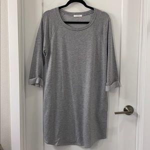 Gray Dress with pockets